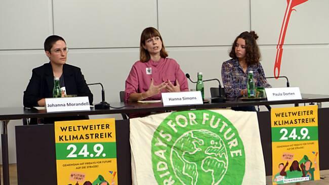 Aufruf zum achten globalen Klimastreik