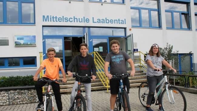 """""""Bikeline"""" - Laabental-Schüler radelten bisher 93.512 Kilometer"""