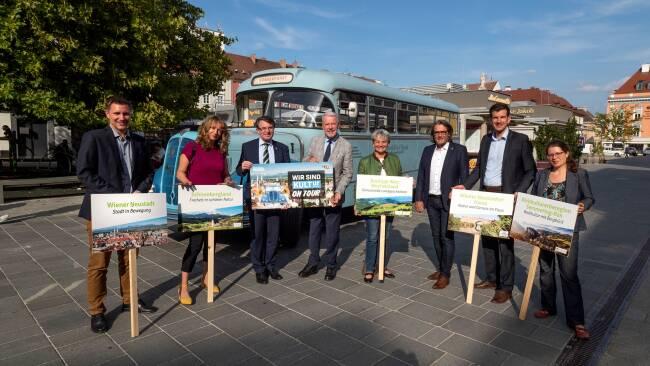 """Wiener Neustadt: """"Wir sind KULTur on Tour"""""""