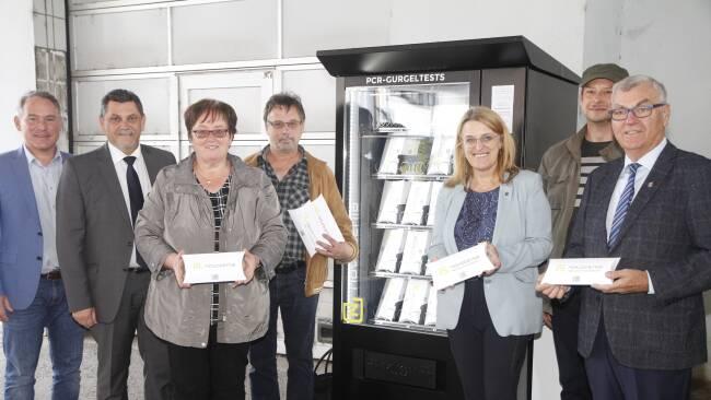 PCR Gurgeltest Schrems