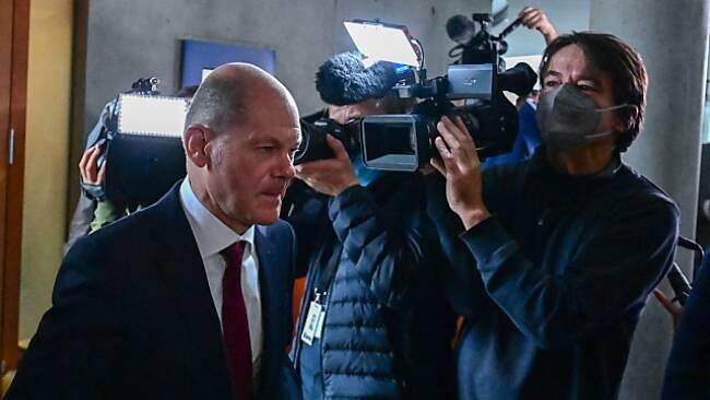 Olaf Scholz fährt einen unerwarteten Wahlsieg ein