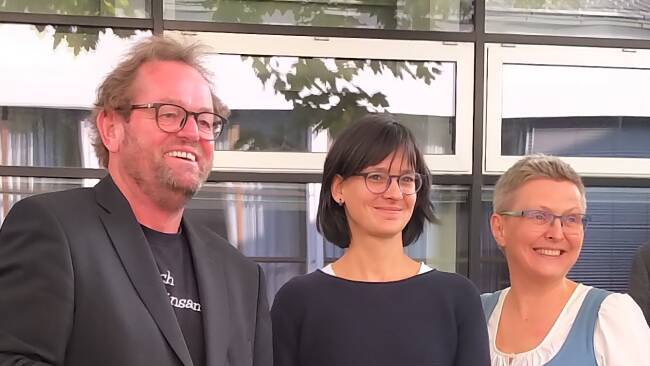 Ferdinand Kaineder, Katharina Renner und Brigitte Knell.