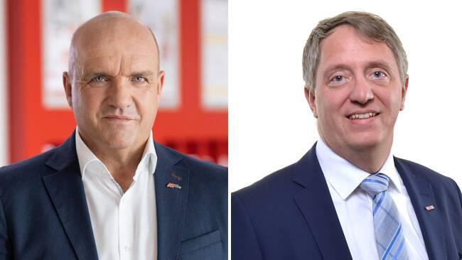 Markus Wieser undAlexander Schrötter