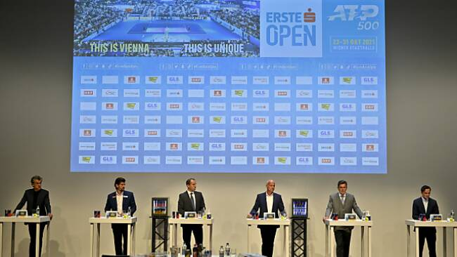 Starterfeld für Erste Bank Open wurde in Wien präsentiert