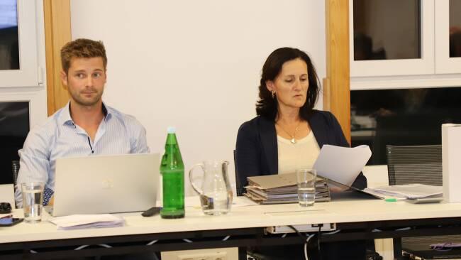 Stefan Cerwinka und ÖVP-Bürgermeisterin Marianne Rickl