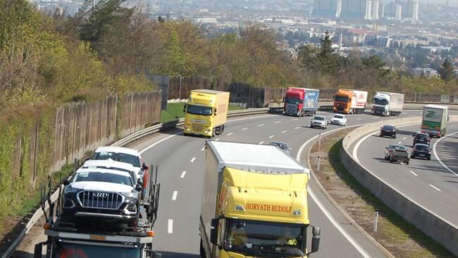 Verbesserung des Lärmschutzes entlang der Wiener Außenring-Autobahn