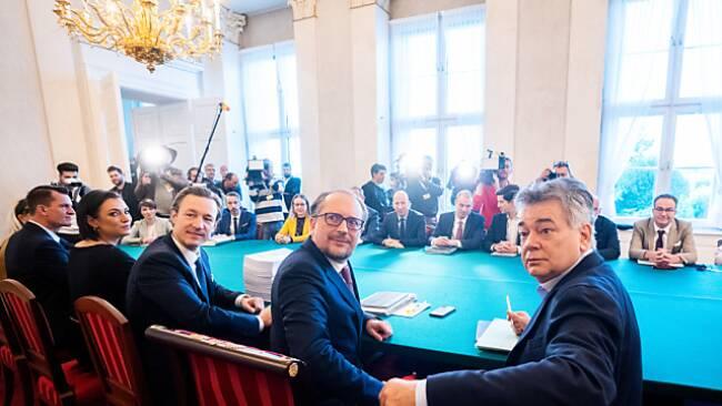 Schallenberg statt Kurz im Ministerrat