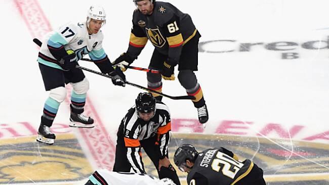 NHL-Neuling Seattle startete in Las Vegas mit Niederlage