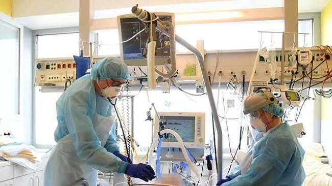 Bei der Alpha-Variante lagen Schwerkranke noch fünf Tage länger auf ICU