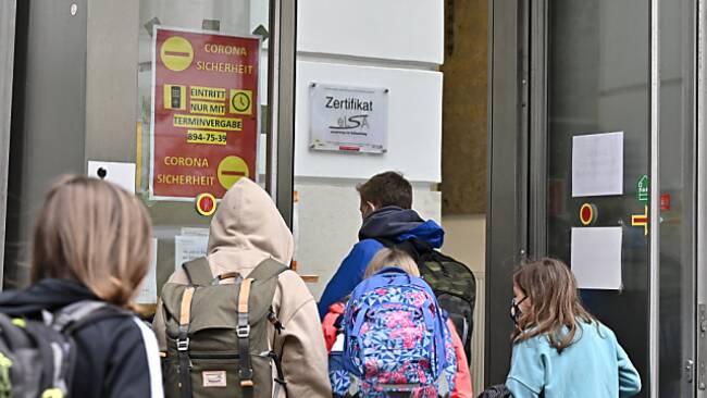 Die meisten Schulrückkehrer gibt es es Wien