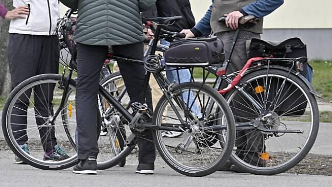 Immer mehr Radfahrer unterwegs