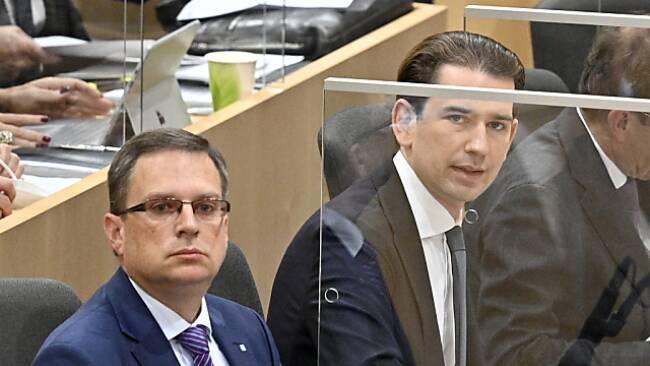 Budgetdebatte mit Kurz als Neo-Mandatar