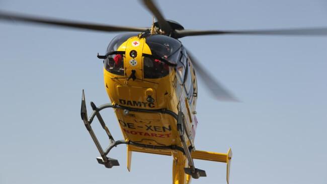 Rettung ÖAMTC Hubschrauber Rettungshubschrauber