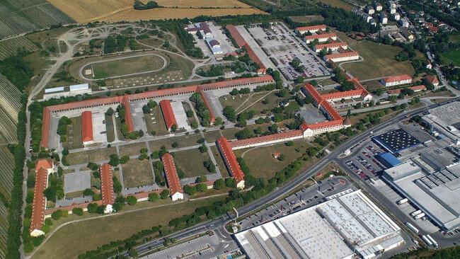 bad11j-MartinekLuftbild-4sps Baden Kaserne Martinek-Kaserne Martinek