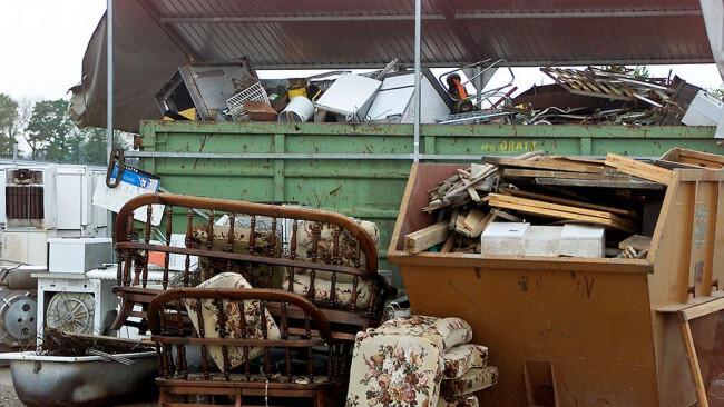 Altstoffsammelzentrum Müll Mülldeponie