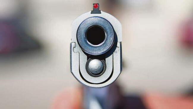 Waffe Pistole Revolver