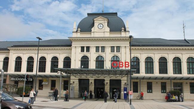 Bahnhof St. Pölten