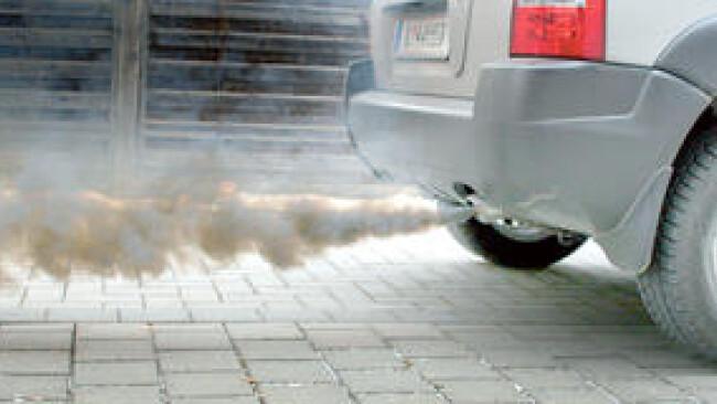 Auspuff Abgase Umweltverschmutzung