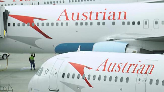 AUA Austrian Airlines Symbolbild