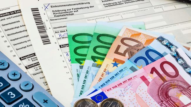 Steuerausgleich Einkommenssteuer Steuer Finanzamt